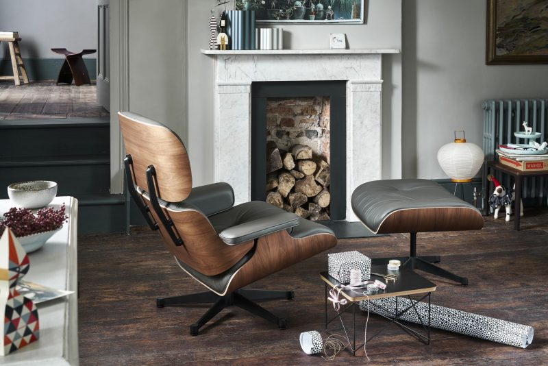 buy all nest chair eames vitra co at ottoman uk product the lounge and black